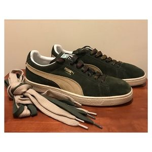 PUMA Suede Classic Low-top Sneakers, 11